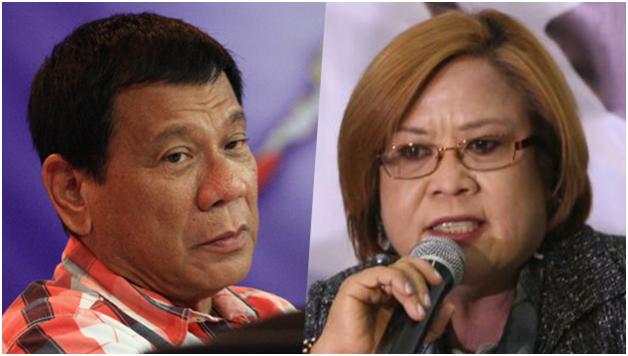 De Lima warns Duterte: I'm watching you