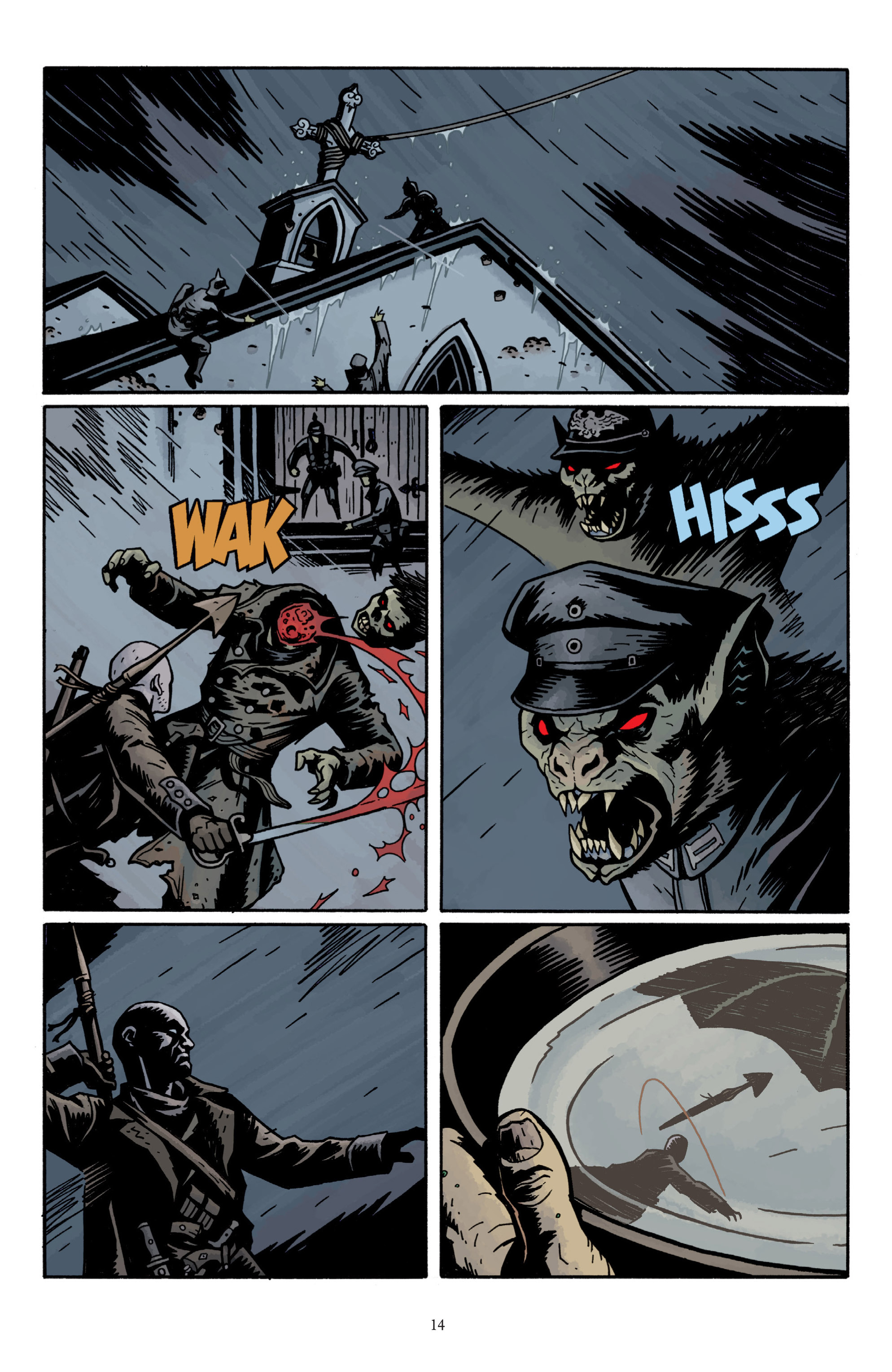 Read online Baltimore: The Plague Ships comic -  Issue # TPB - 16