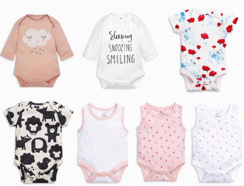 Ile kupic ubranek niemowlęcych, ile kupic body dla noworodka, jak wybrac ubranka dla noworodka,