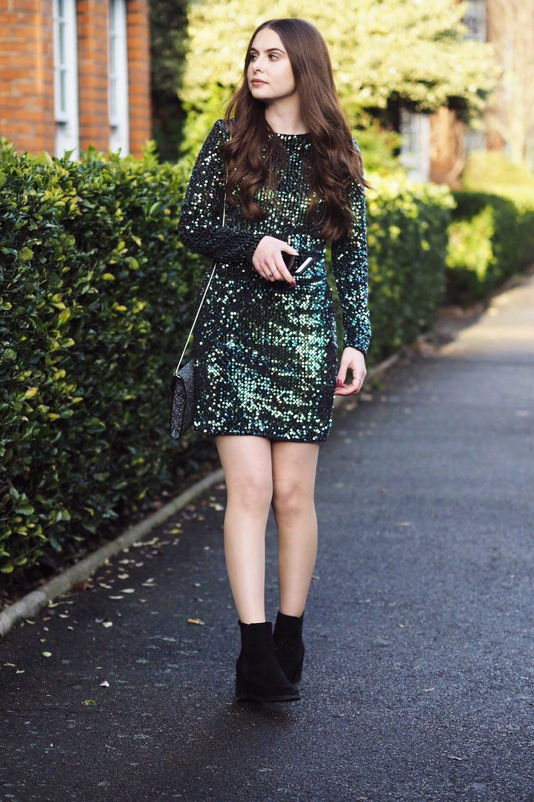 Debenhams party wear dresses festive new years eve outfit inspiration GabbyxQuiz