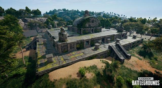 PUBG PC: Cẩm nang sống sót trong khu đền cổ Ruins Sanhok