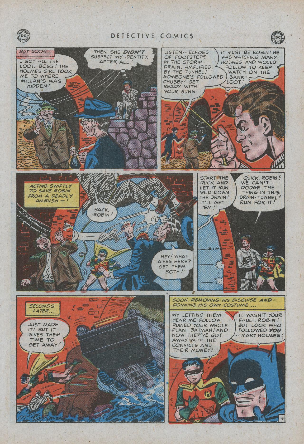 Read online Detective Comics (1937) comic -  Issue #154 - 9