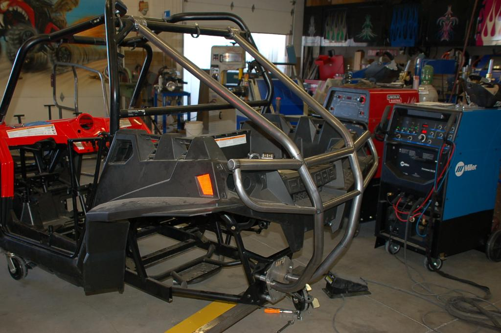 POLARIS RZR XP REAR ADD ON ROLL CAGE NOW AVAILABLE FROM UTV