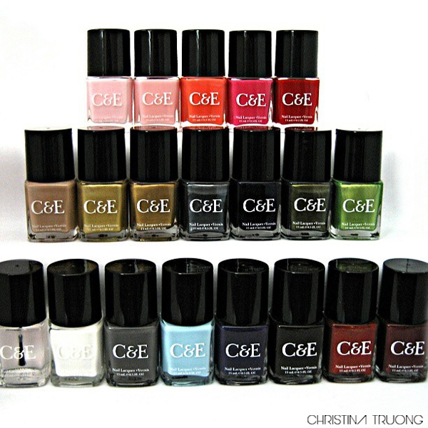 Christina Truong: Crabtree & Evelyn Nail Polish Collection Review