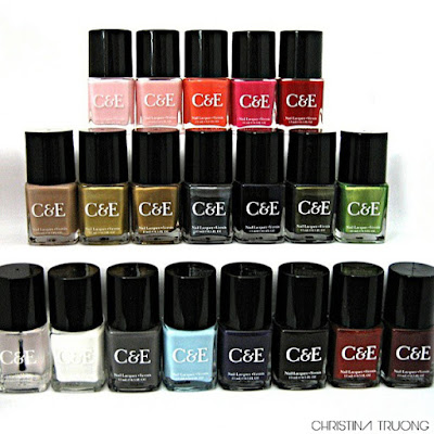 Crabtree & Evelyn Nail Polish Collection Review