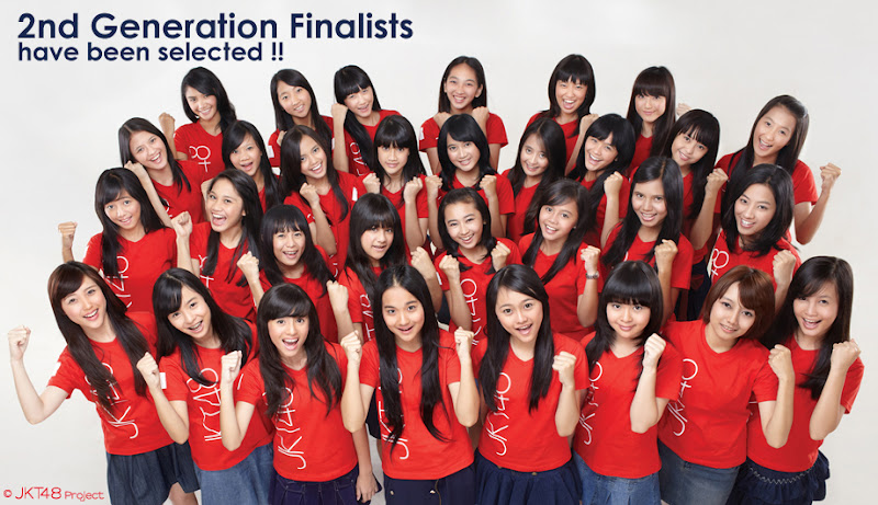 Finalis JKT48 2nd Generation