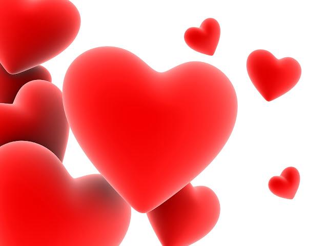 Red heart wallpaper, heart wallpapers