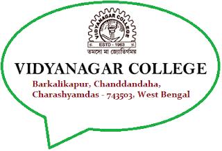 Vidyanagar College, Barkalikapur, Chanddandaha, Charashyamdas - 743503, West Bengal