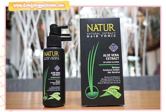 miliki rambut sehat dengan natur aloe vera