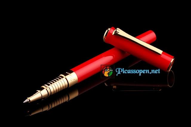 Bút cao cấp Picasso 988 màu đỏ