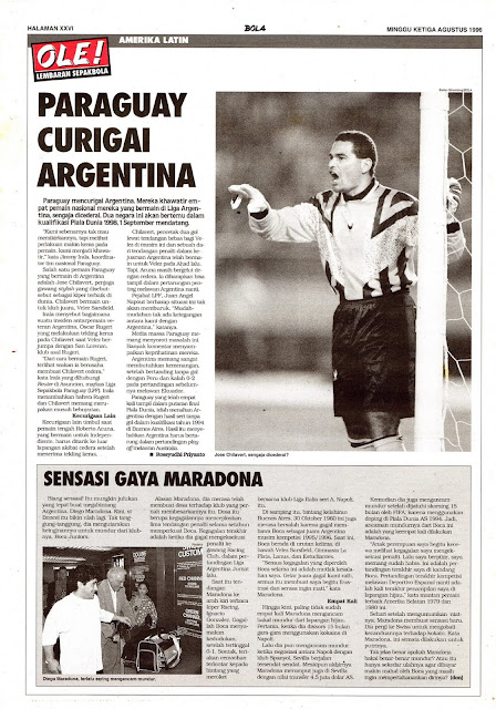 AMERIKA LATIN PARAGUAY CURIGAI ARGENTINA