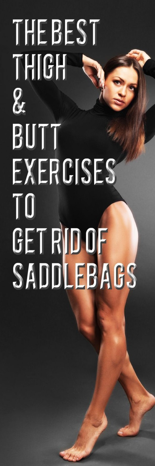 The Best Thigh and Butt Exercises to Get Rid of Saddlebags