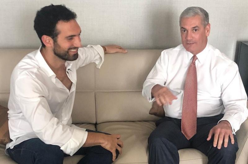 Karim Abú Naba' apuesta 10 millones de pesos a que Gonzalo le gana a Leonel