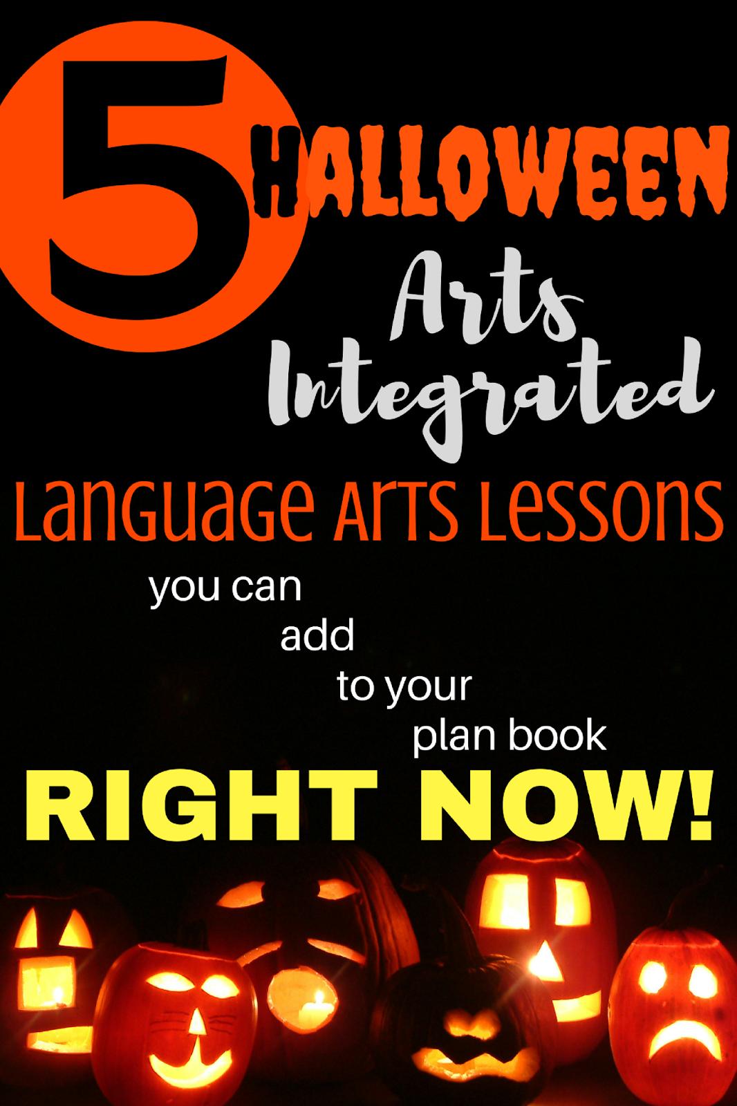 Ms Sewell S Class Halloween Themed Arts Integration