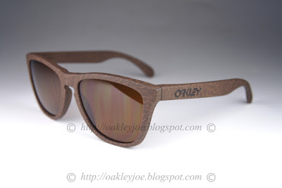 oakley frogskins sunglasses eric  oo9013 76 frogskins high grade collection tabacco + dark bronze $180 now 160! lens pre coated with oakley hydrophobic nano solution