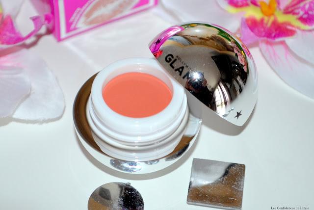 baume à lèvres - baume teinté pour les lèvres - Glamglow - soin