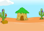 Play MouseCity Escape Dry Desert