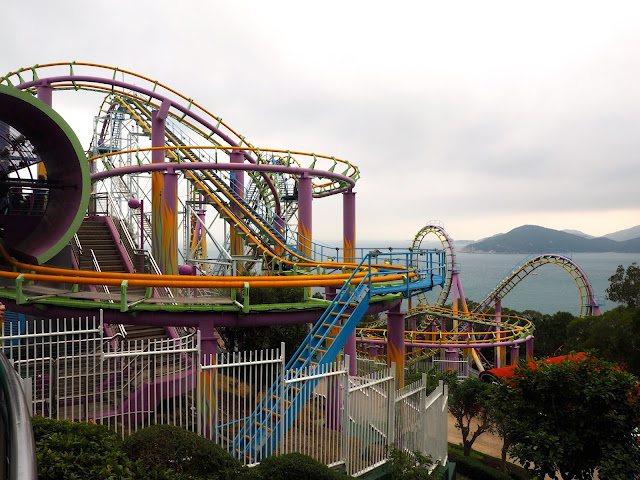 The Dragon rollercoaster, Ocean Park, Hong Kong