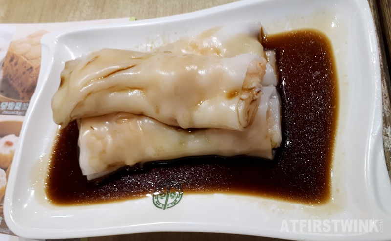 Tim Ho Wan shrimp rice rolls