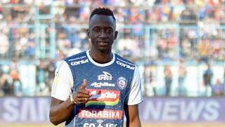 Konate Nyatakan Siap Bantu Arema FC Menang atas Persib Bandung