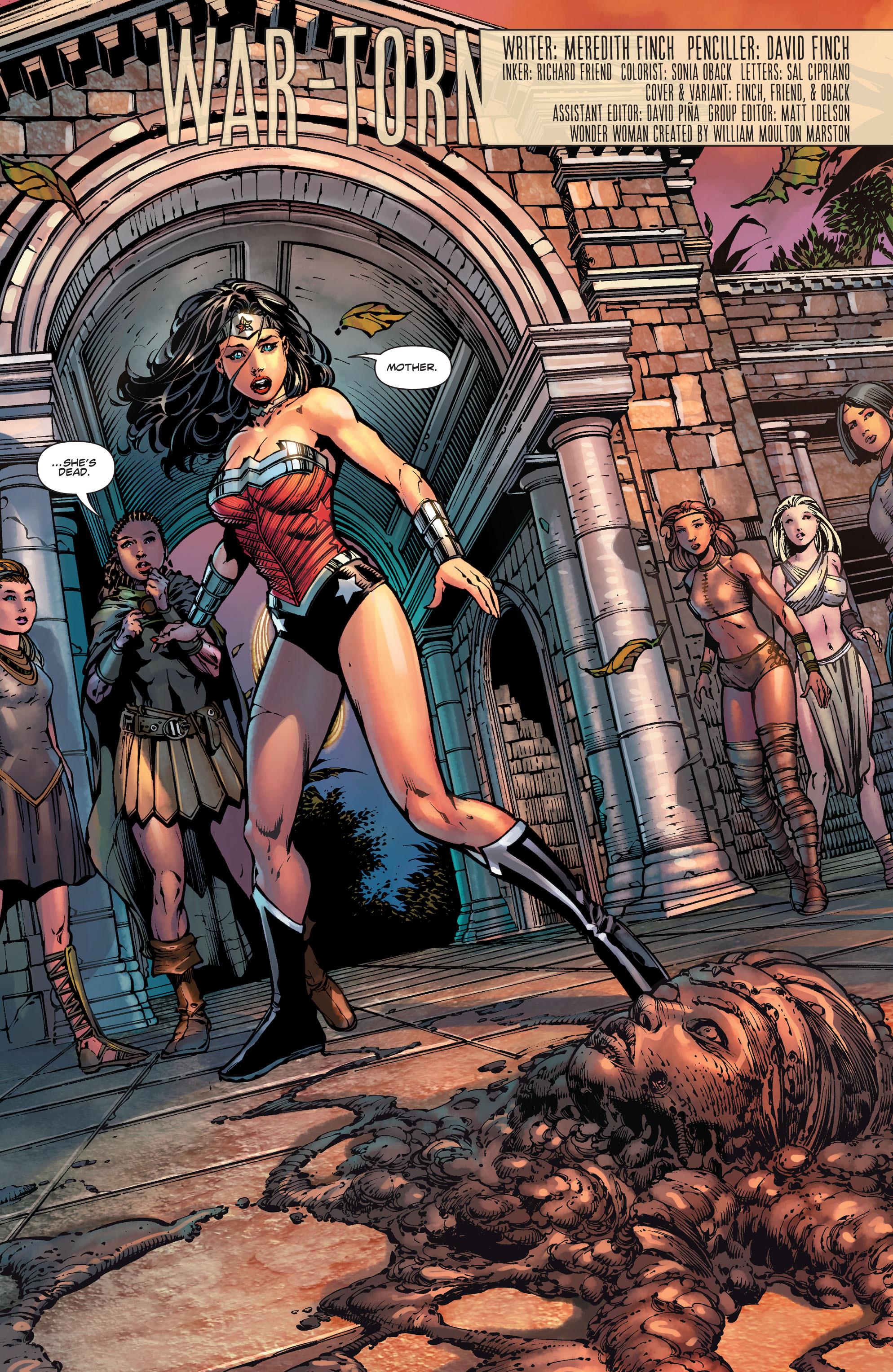 Read online Wonder Woman (2011) comic -  Issue #36 - 19