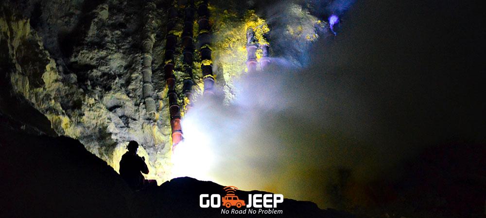 kawah ijen blue fire wisata api biru banyuwangi private trip