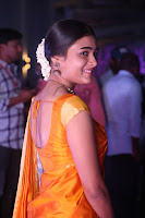 Shalini Pandey in Beautiful Orange Saree Sleeveless Blouse Choli ~  Exclusive Celebrities Galleries 019.JPG