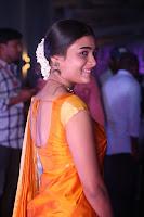 Shalini Pandey in Beautiful Orange Saree Sleeveless Blouse Choli ~  Exclusive Celebrities Galleries 019.JPG