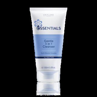 3-σε-1 Προϊόν Καθαρισμού Προσώπου Essentials 150ml Κωδικός: 23753 Δίνει Bonus Points: 4