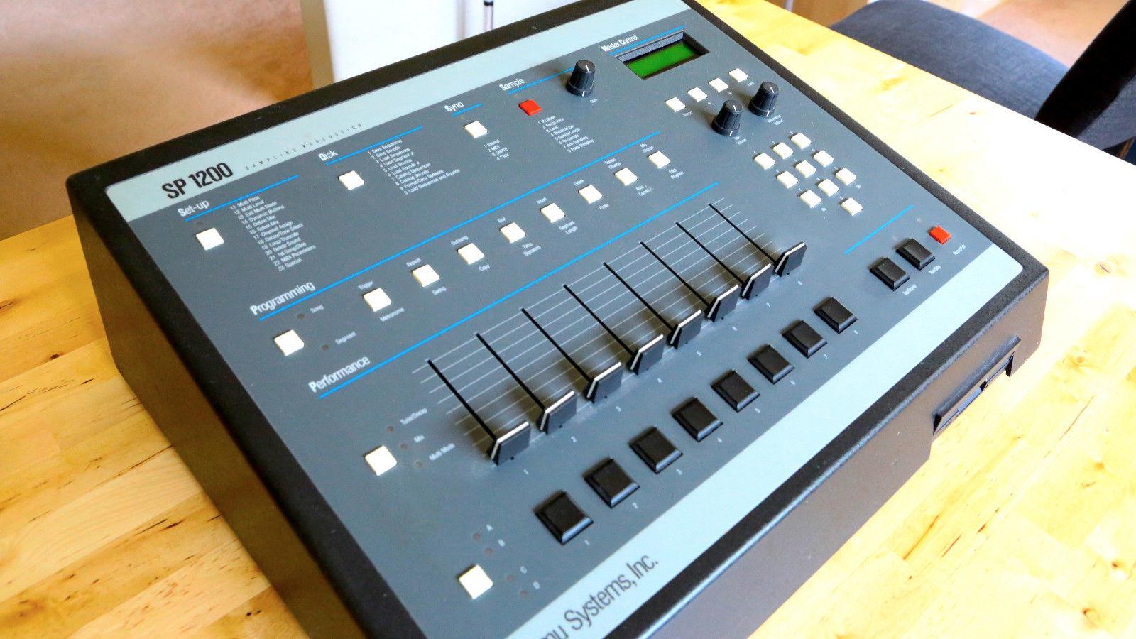 matrixsynth emu sp1200 vintage sampling drum machine sn 019704435. Black Bedroom Furniture Sets. Home Design Ideas