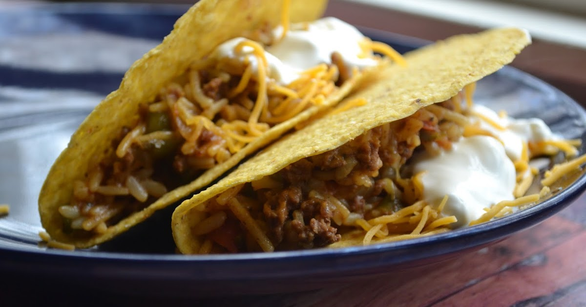 Making Miracles Knorr S Mexican Rice And Beef Tacos