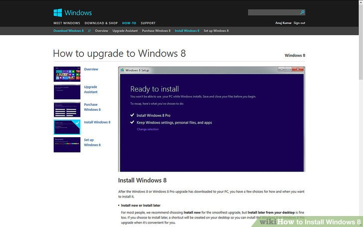 How to Install Windows 8 - Step by Step Installation ~ Windows™