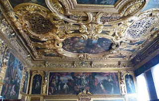 Sala del Senato del Palacio Ducal.