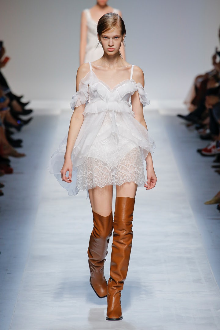 Eniwhere Fashion - MFW - Spring19 - Ermanno Scervino