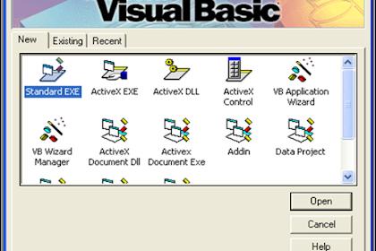 Memahami Objek di Visual Basic 6.0 serta Properti, Event dan Metode-nya
