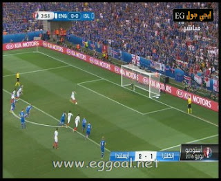 اهداف مباراة إنجلترا 1-2 أيسلندا كاس امم اوروبا 2016 دور 16 england-vs-iecland goals