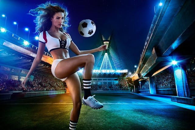 Поиграй в футбол с экшн-камерой
