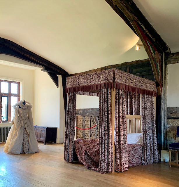 Haunted bedroom at Ordsall Hall, Manchester