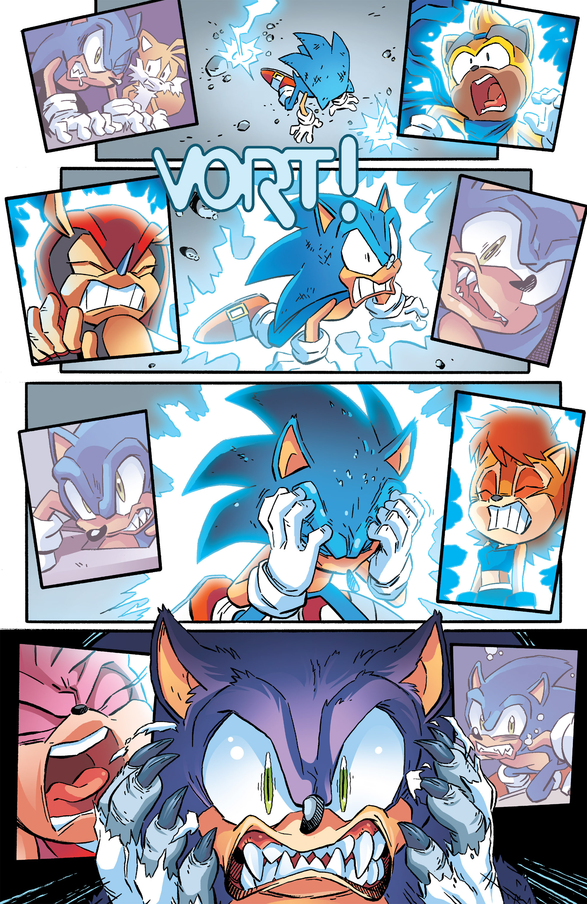 Read online Sonic The Hedgehog comic -  Issue #264 - 16