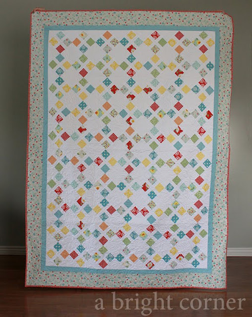 Moroccan Tile Quilt by A Bright Corner