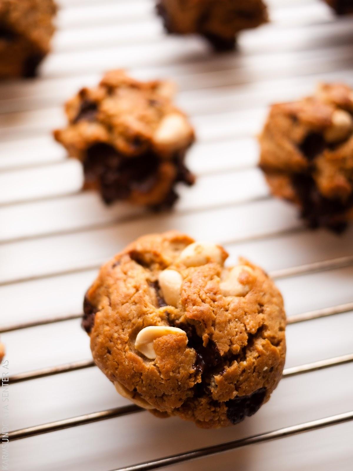 Cookies med peanøttesmør og yogurt