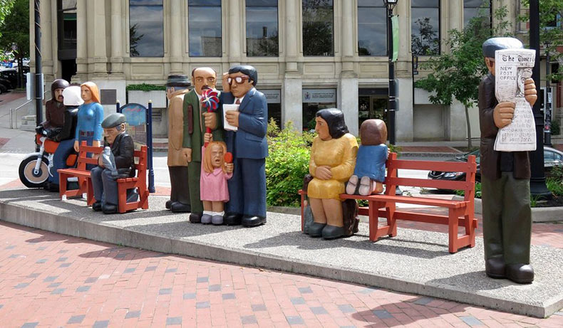 El arte público de John Hooper | Canadá