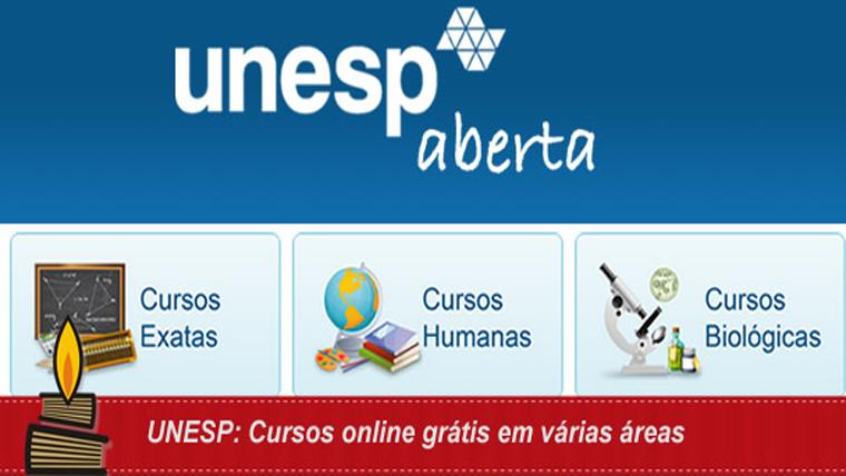 Unesp oferece mais de 50 cursos online gratuitos - Inscreva-se já