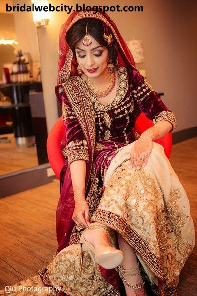 Beautiful Pakistani Cute Bridal Wedding Pictures www.bridalwebcity.blogspot.com