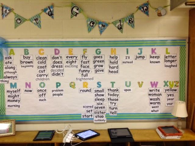 Literacy Minute: Word Walls
