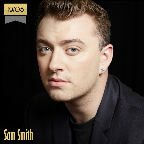 19 de mayo | Sam Smith - @samsmithworld | Info + vídeos
