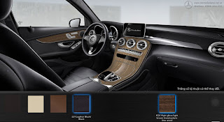 Nội thất Mercedes GLC 250 4MATIC 2017 màu Đen 211
