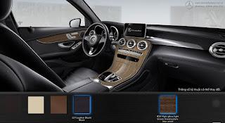 Nội thất Mercedes GLC 300 4MATIC Coupe 2018 màu Đen 211