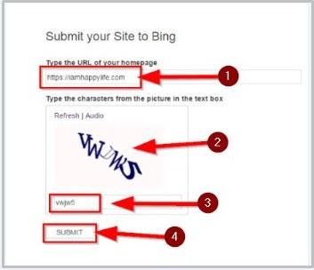 blog website ko bing yahoo me kaise submit karte hai all jankari hidi me