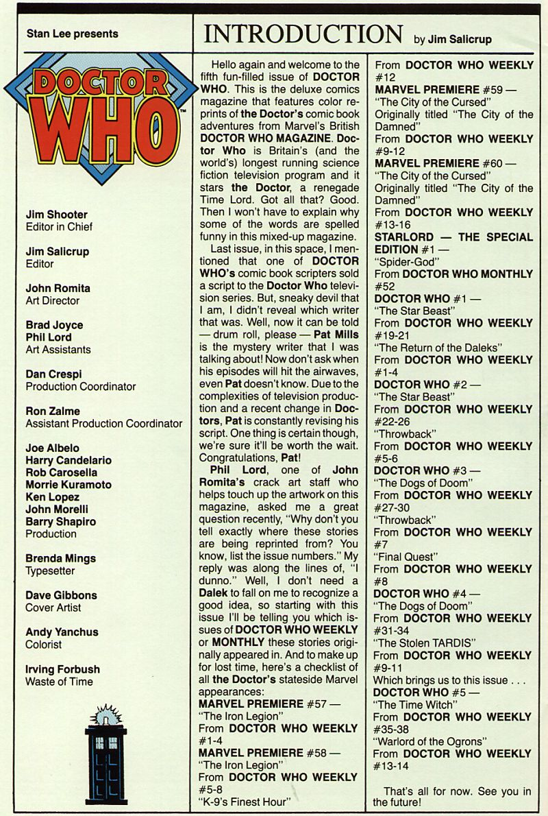 Doctor Who (1984) 5 Page 2